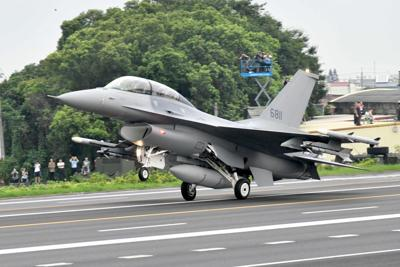 Taiwan fighter jets