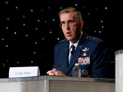 Pentagon: Space Command's Hyten to take helm at U S  Strategic