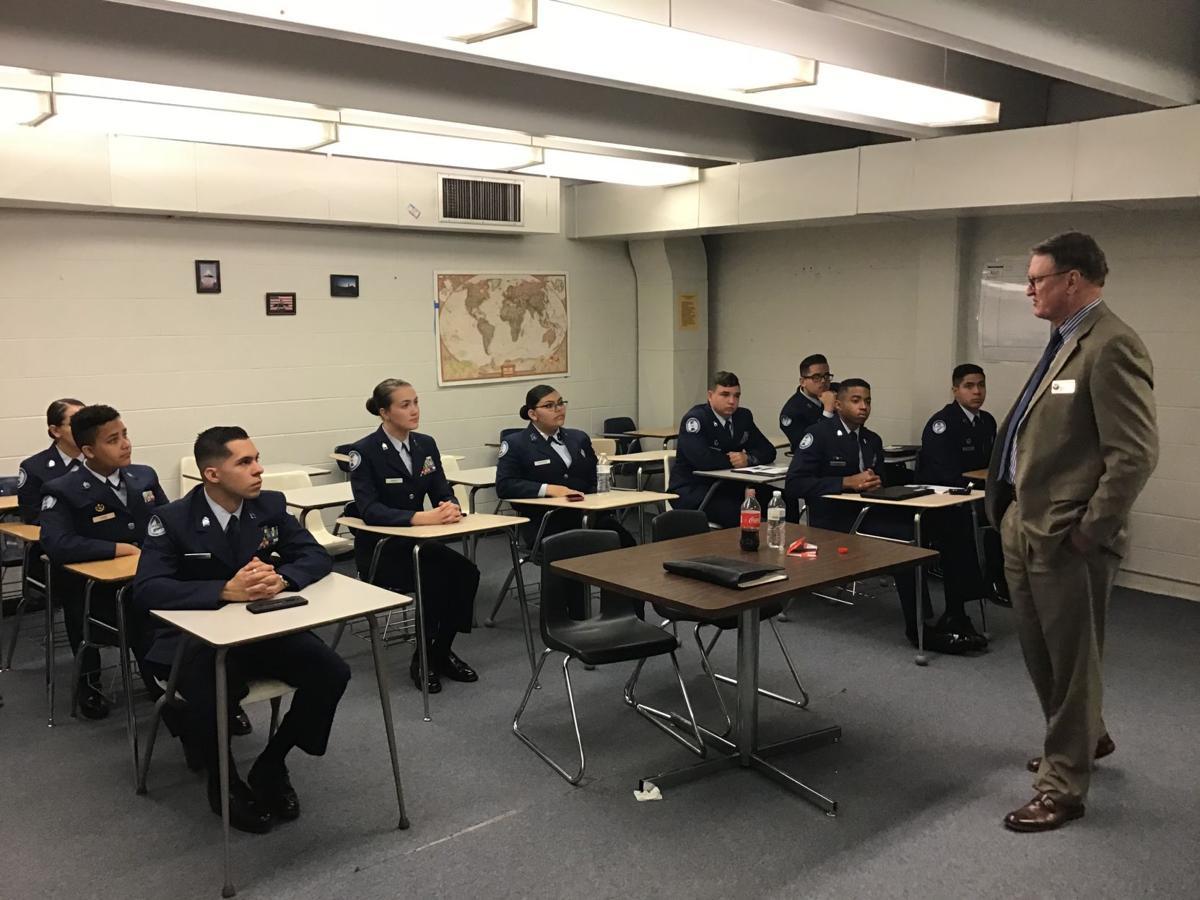 Harrison High's Air Force JROTC earns highest unit assessment score attainable