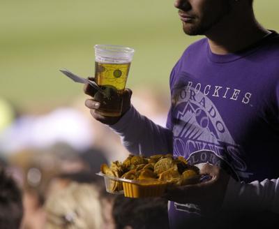 Baseball Fan, Coors Field