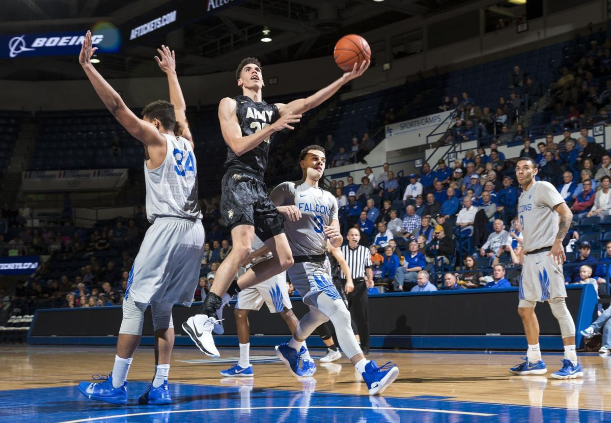 Army tops Air Force at Clune Arena