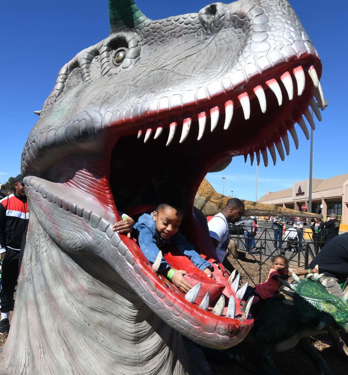 "Colorado Springs welcomes ""Jurassic"" visitors"