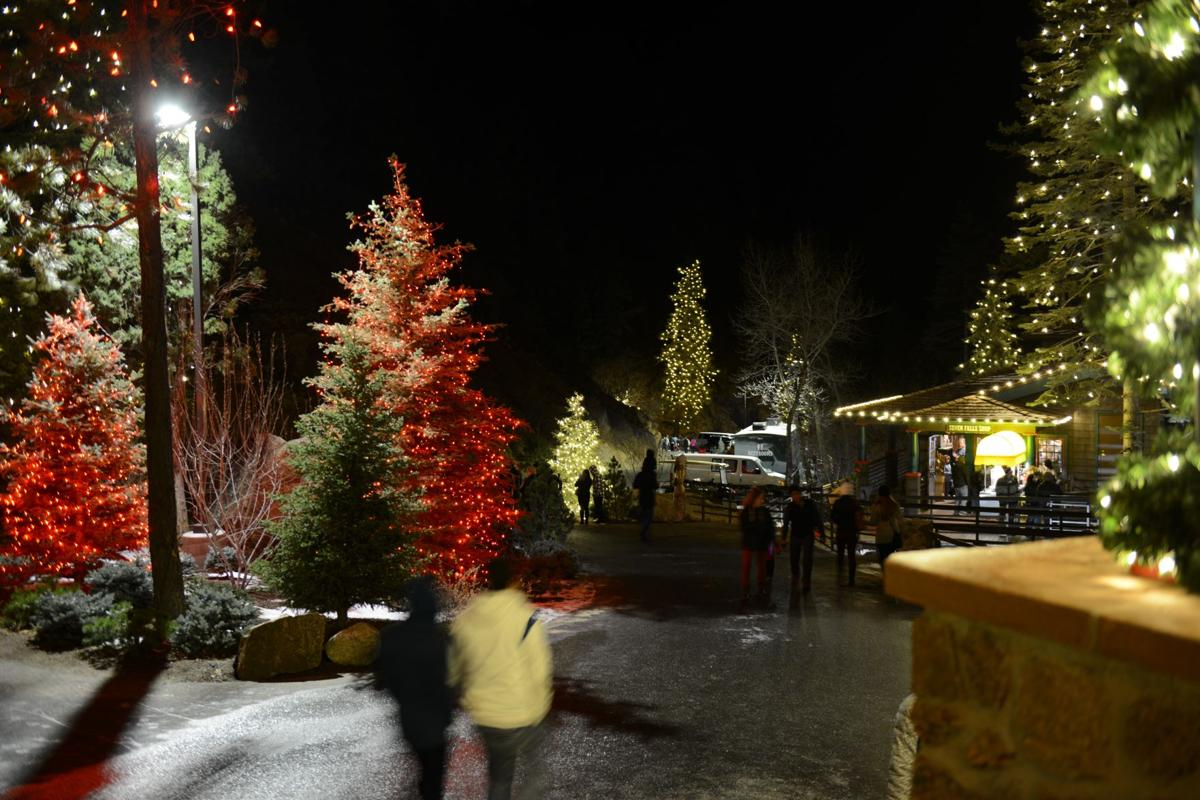 Best Christmas Lights In Colorado Springs 2020 Seven Falls to light up holidays in Colorado Springs | Arts