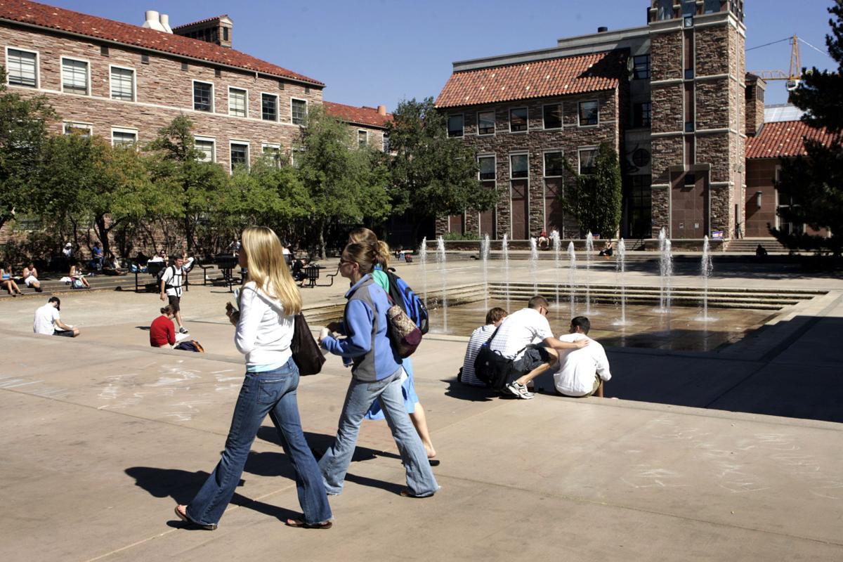 University of Colorado college students