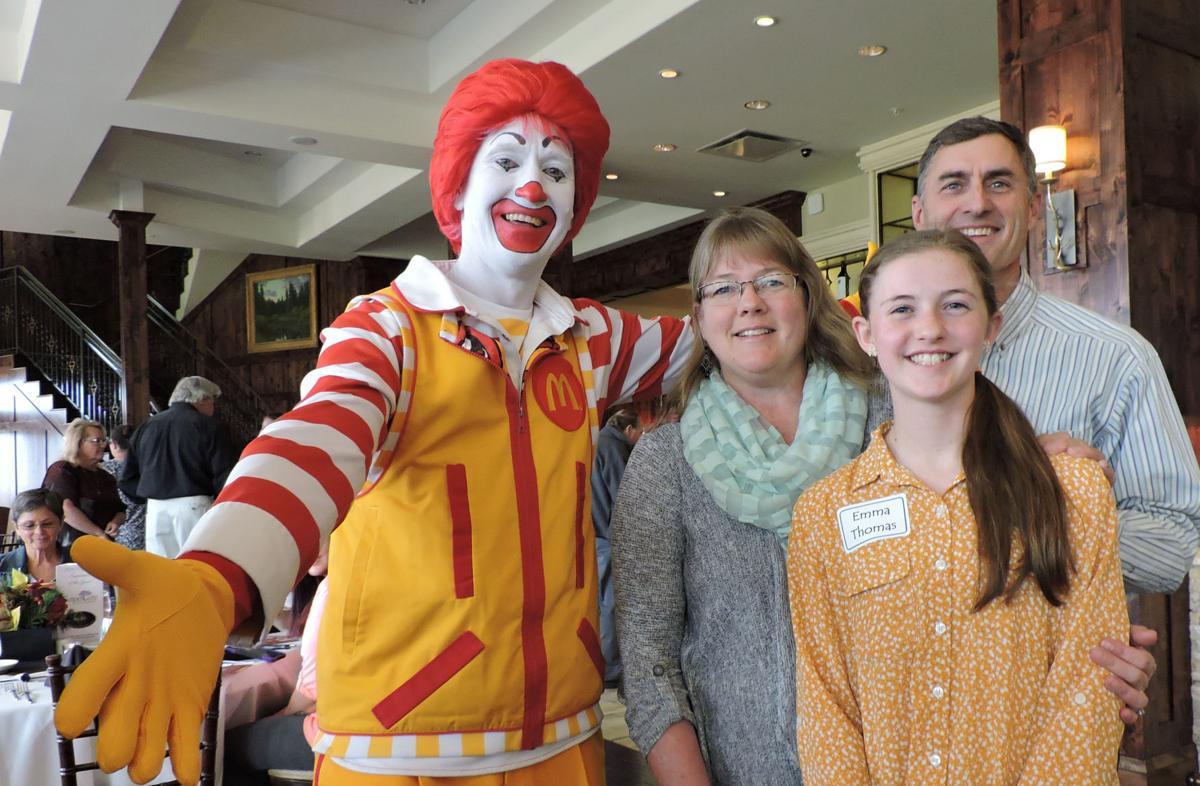 AROUND TOWN: Ronald McDonald House volunteers treated to