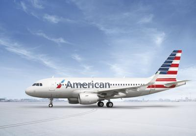 American Airlines A319-on tarmac