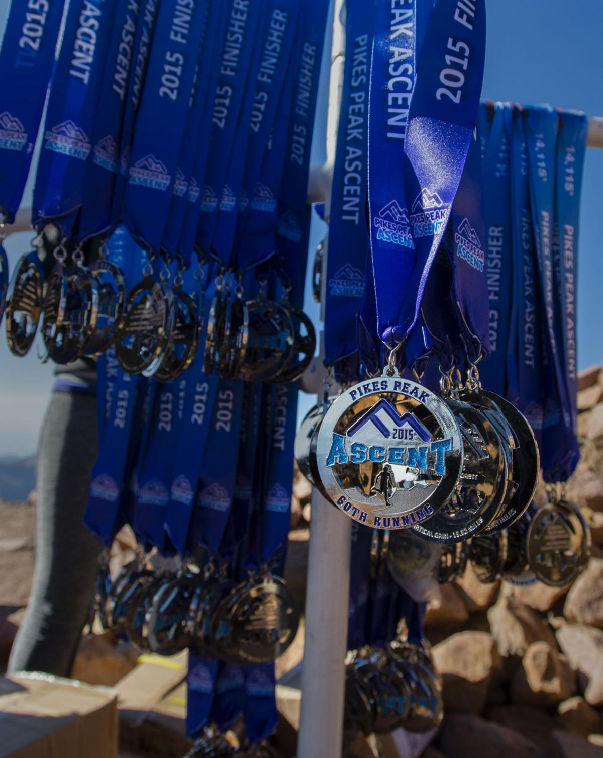 Highlights from the 2015 Pikes Peak Ascent race Saturday, Aug. 15, 2015, from Manitou Springs to the top of 14,115-foot Pikes Peak. (The Gazette, Christian Murdock)