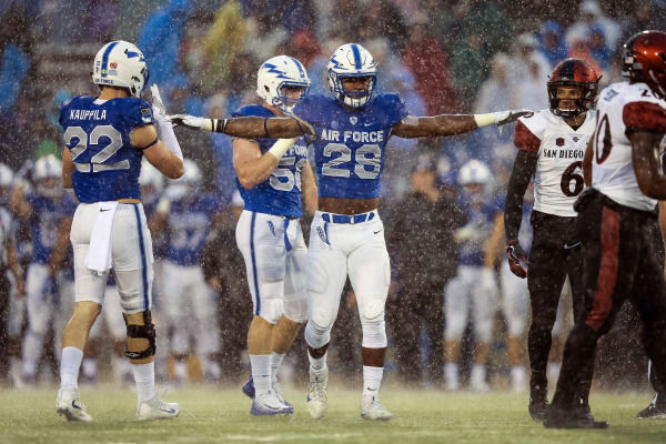 Air Force football begins spring practice looking to sort out position battles, restore 'swagger'