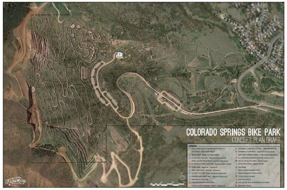 'World class bike park' envisioned for Pikeview Quarry site in northwest Colorado Springs