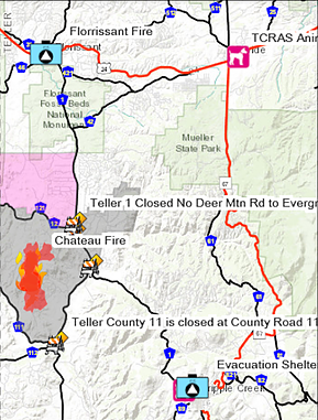 High Chateau fire in Teller County is 15 percent contained