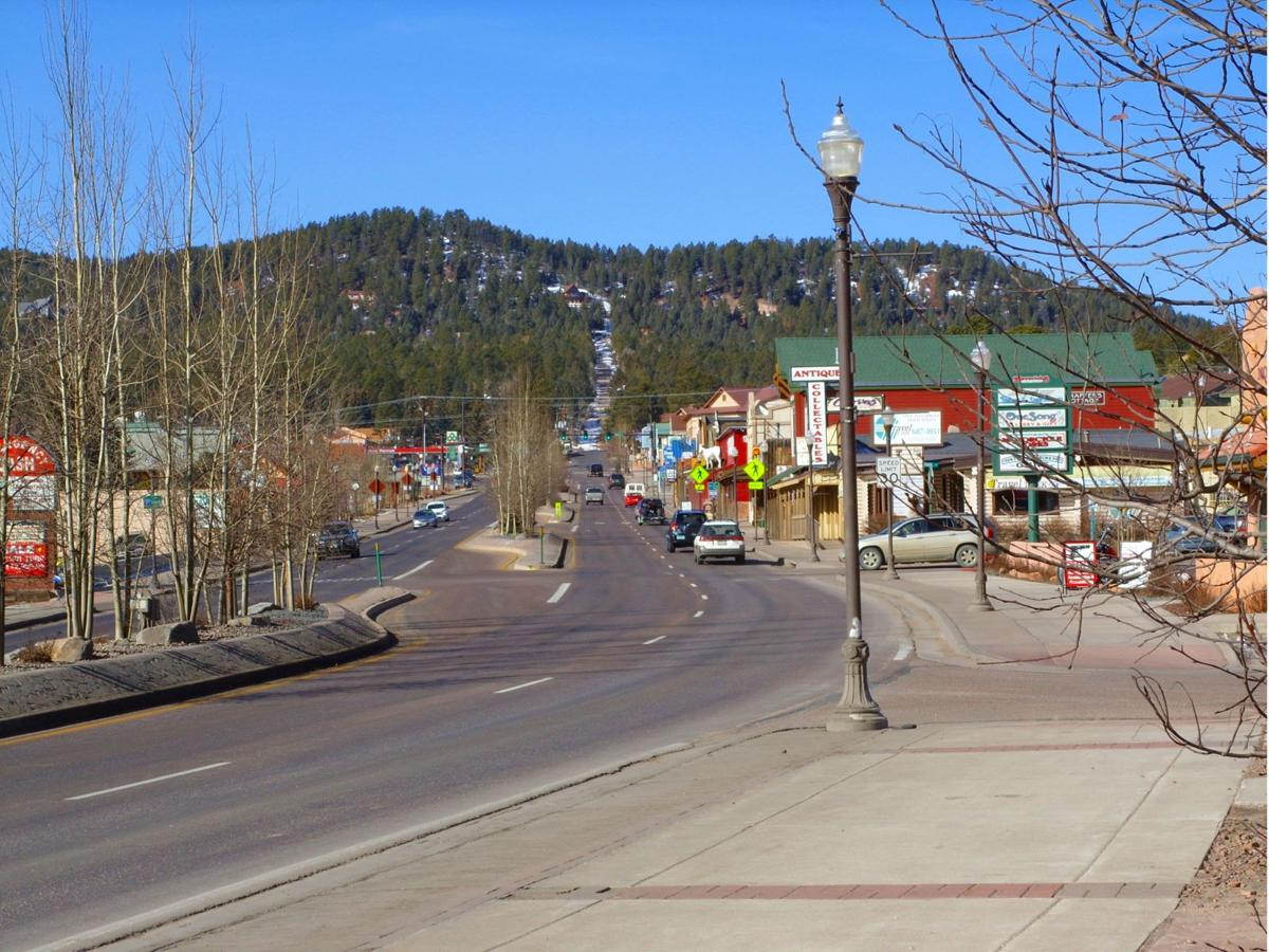 A view heading into downtown Woodland Park (copy)