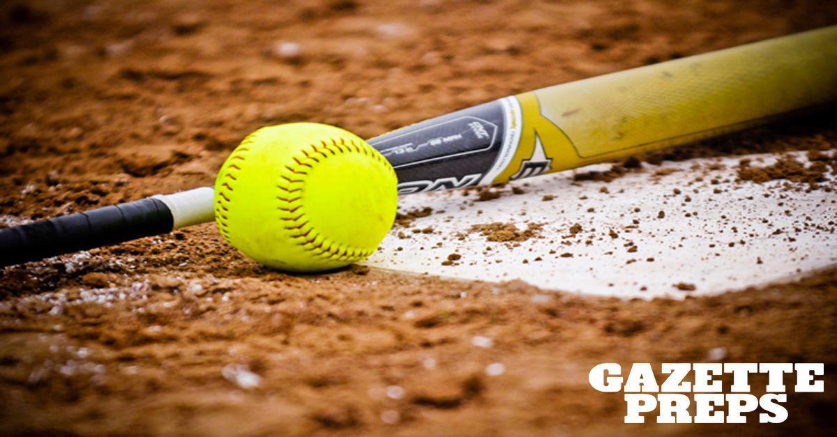 Prep softball stock image