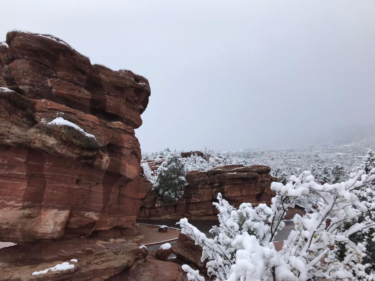 Garden of the Gods snow