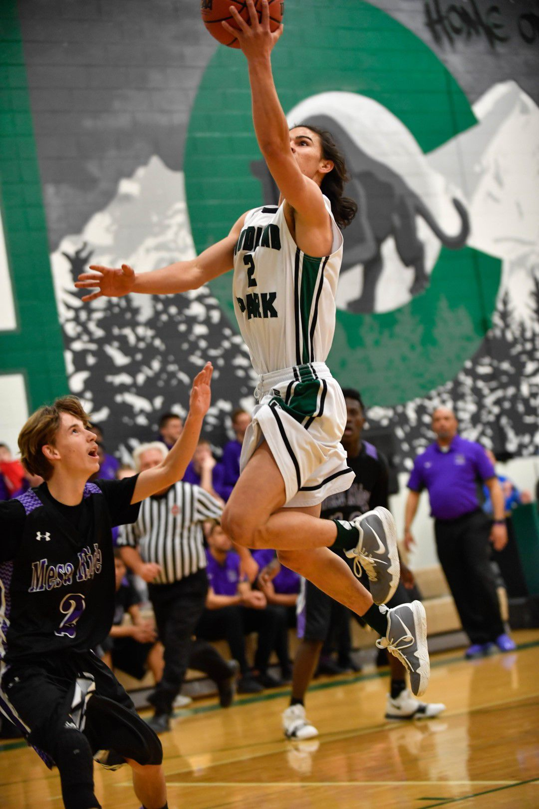 Skye Ciccarelli was a four-year starter in basketball for Woodland Park
