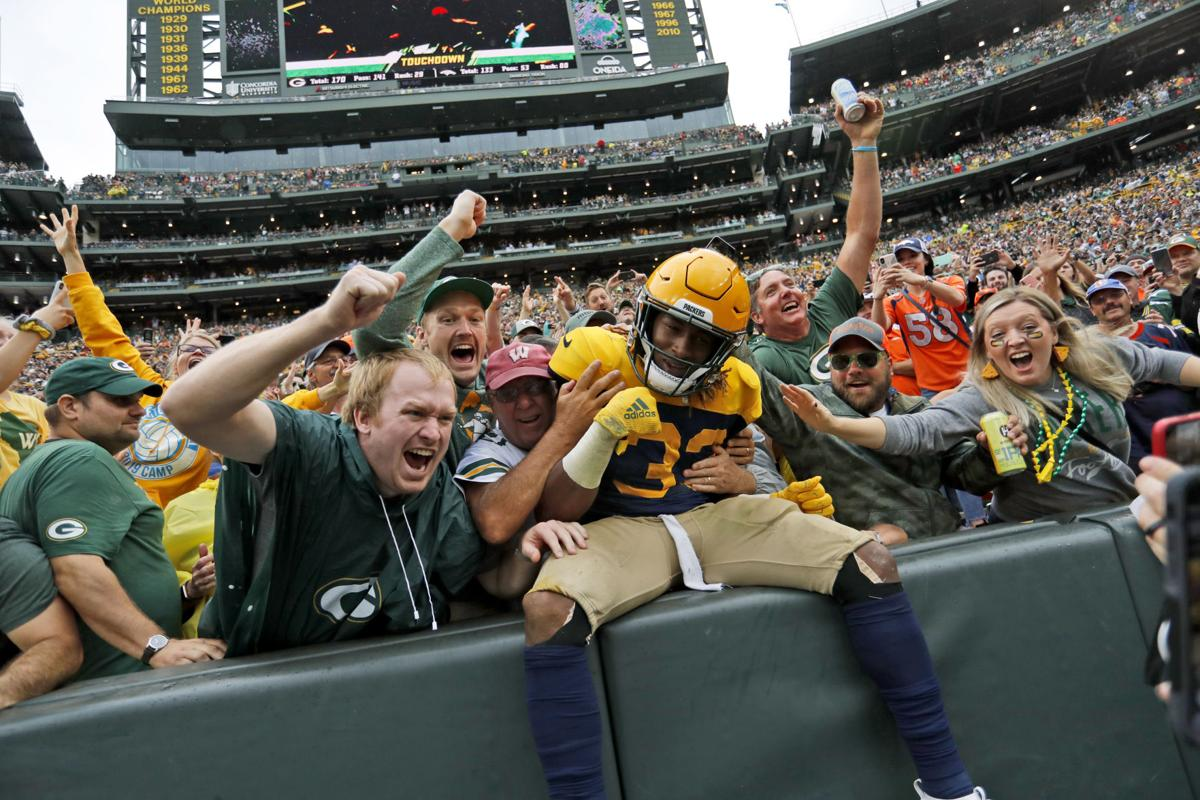 APTOPIX Broncos Packers Football