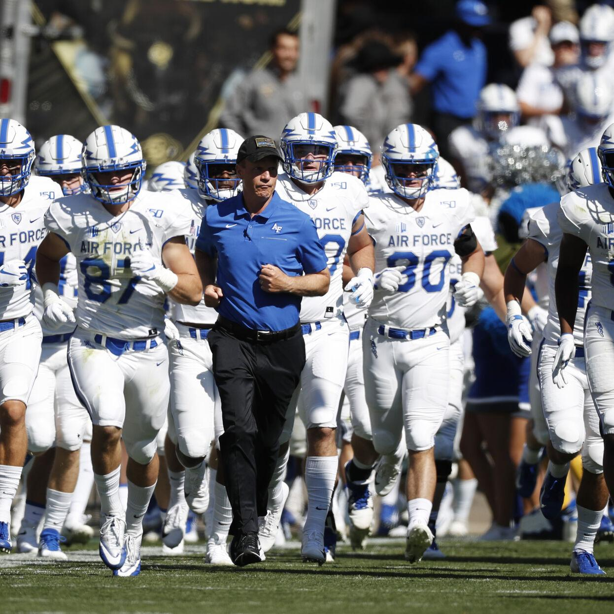 Air Force Remains Tight Lipped On Details Even As It Begins Promoting Possible Two Game Football Season Sports Coverage Gazette Com