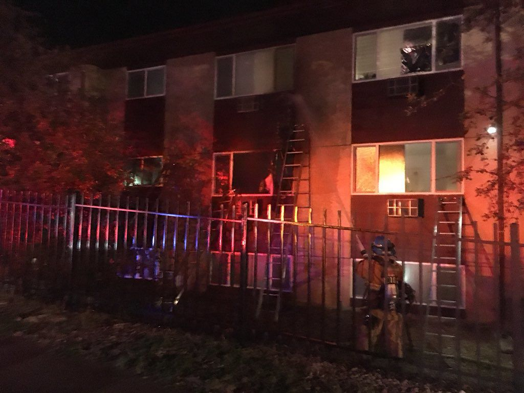 North Colorado Springs apartment fire caused by faulty charger or battery