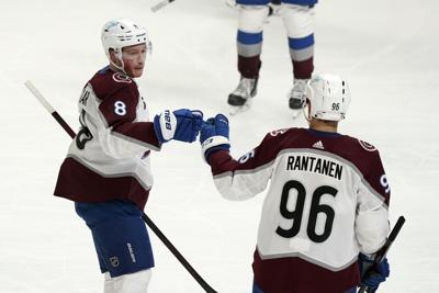 Avalanche Kings Hockey Makar Rantanen