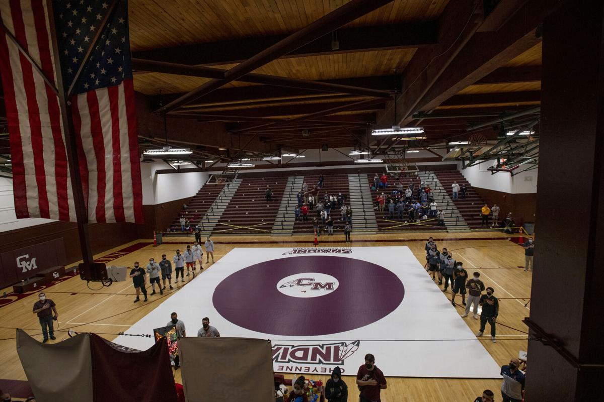 Wrestlers collide in regional tournament at Cheyenne Mountain