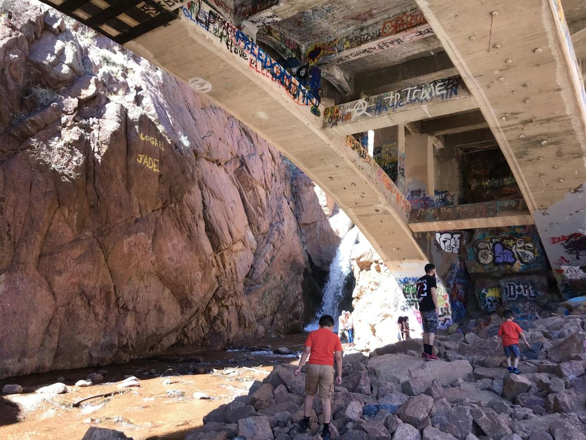 Rainbow Falls open again for summer refreshers | Happy ... on galaxy mobile home, tiffany mobile home, breeze mobile home, school bus mobile home, bad mobile home, hippie mobile home, run down mobile home, purple mobile home, desert mobile home, snow mobile home,