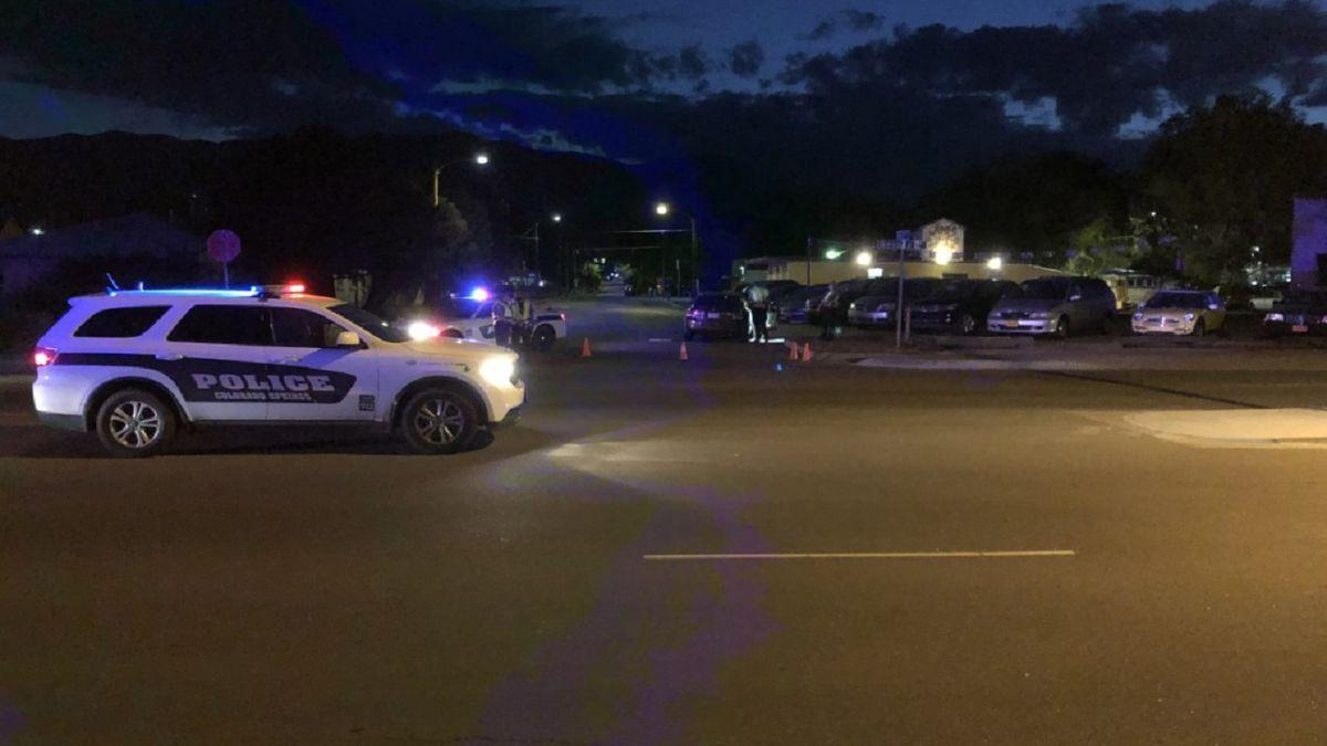 Road south of downtown Colorado Springs closed after crash