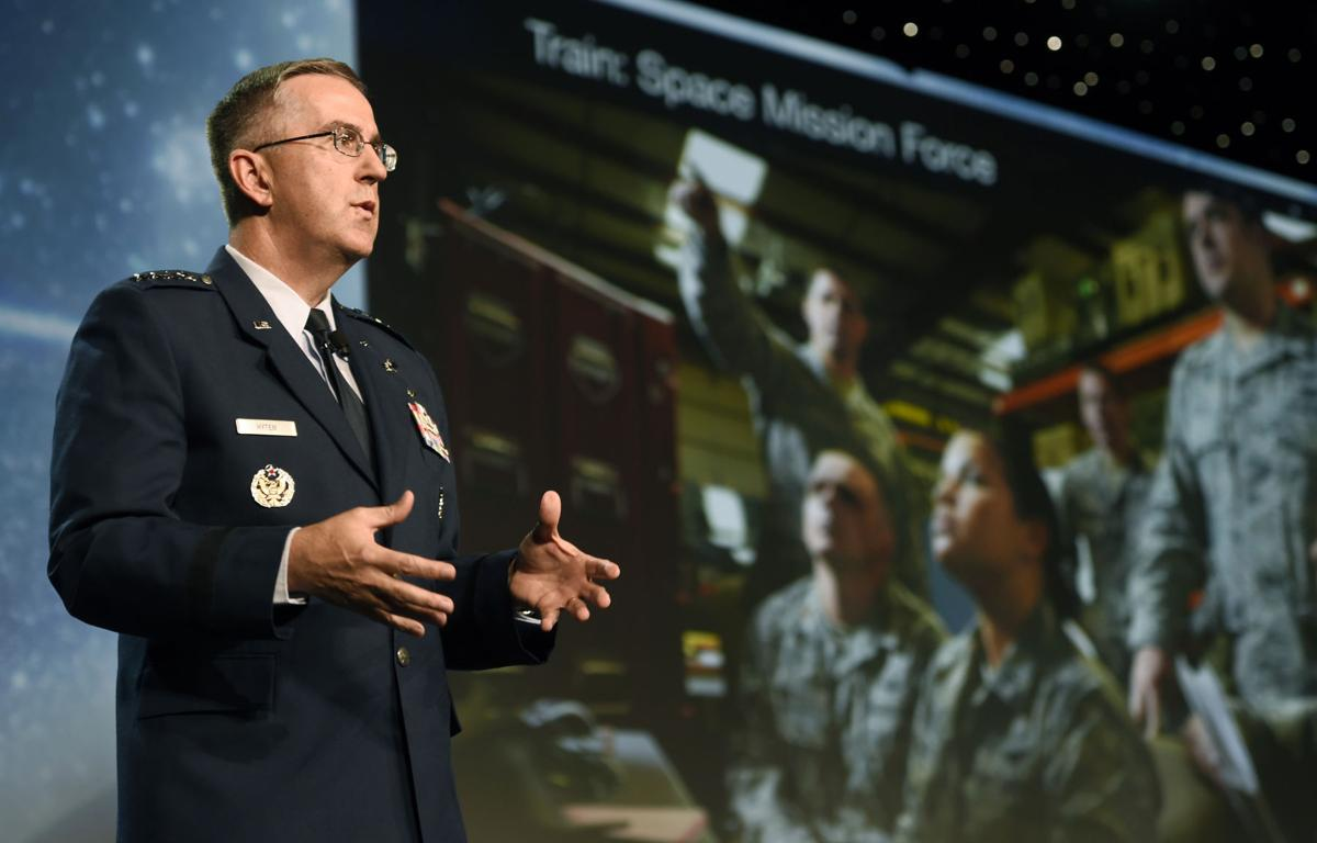 Space Command's Hyten readies for Strategic Command