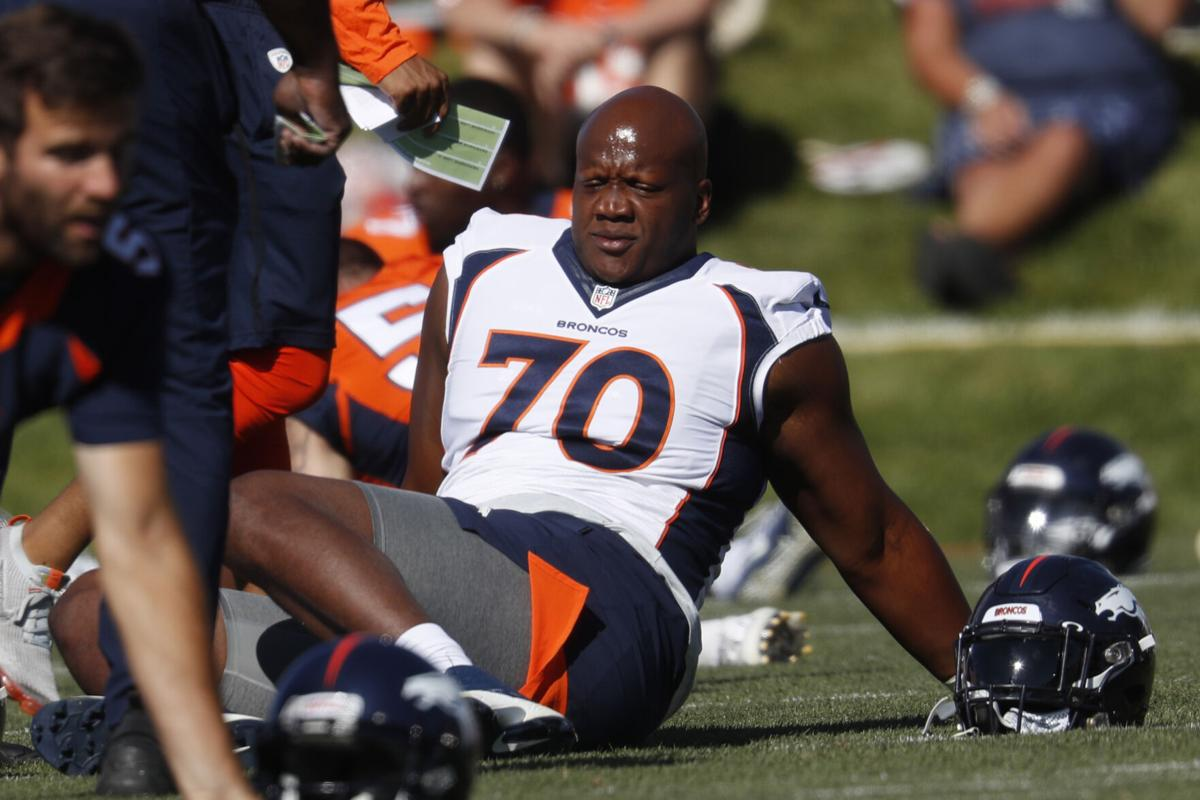 Broncos James Opt Out Football