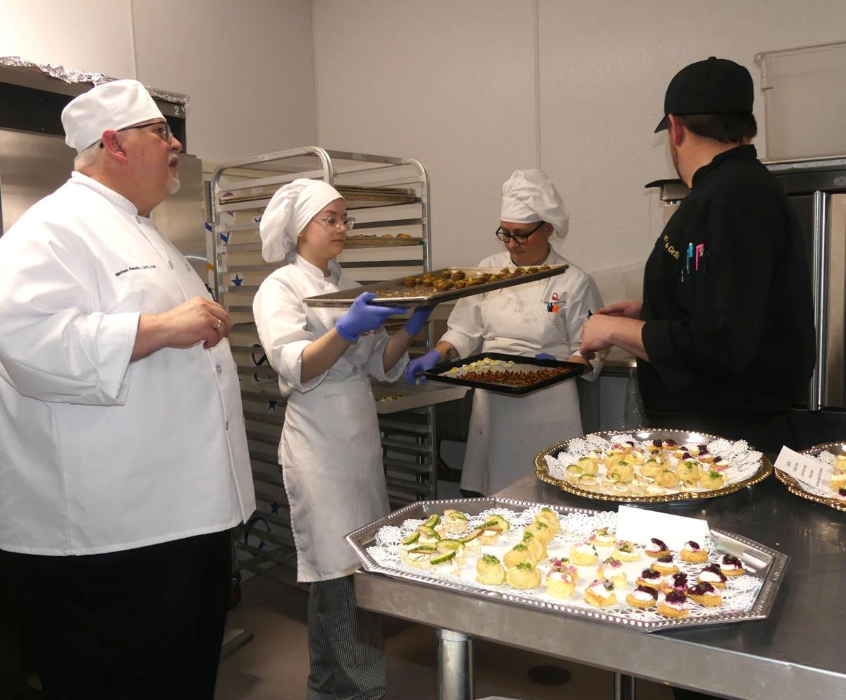 PPCC Culinary Arts students serve up handcrafted creations at scholarship dinner