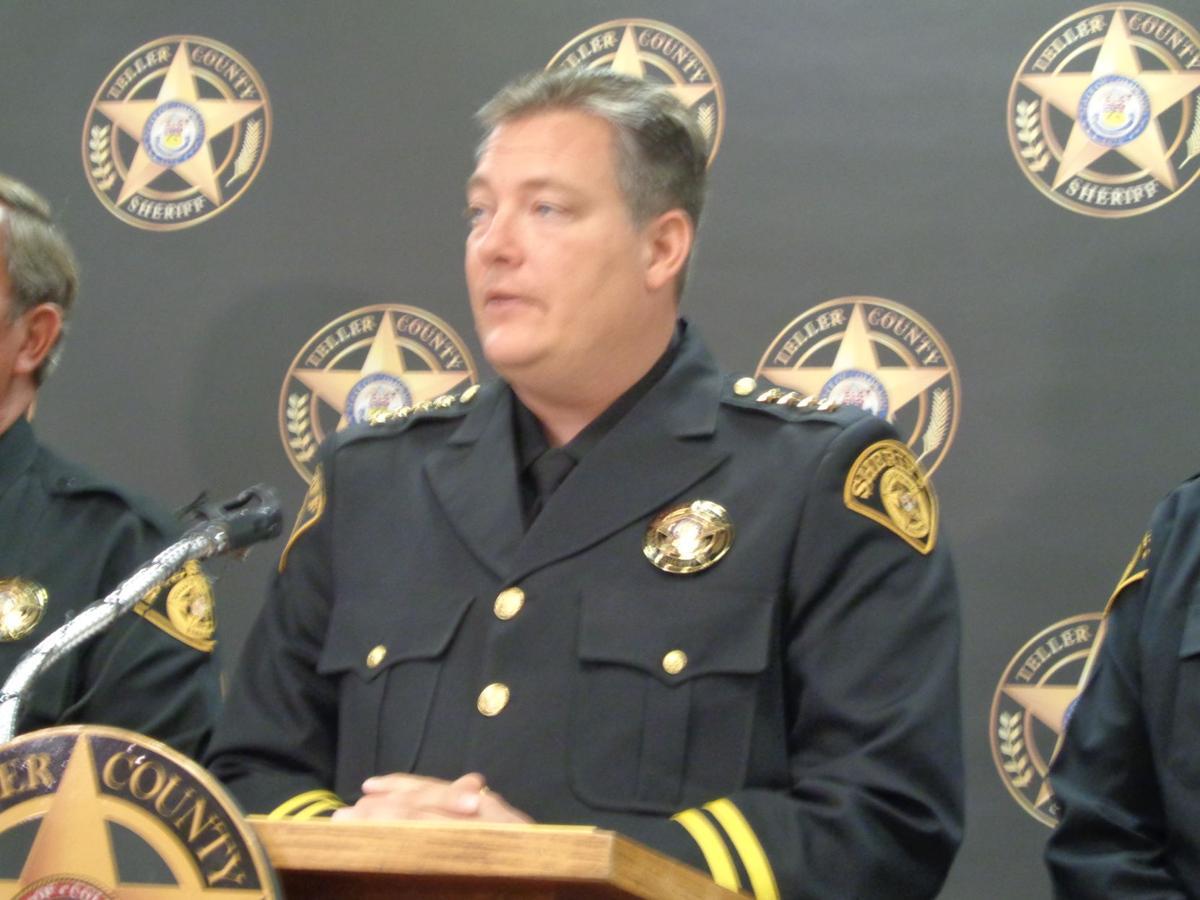 Teller County Sheriff Jason Mikesell