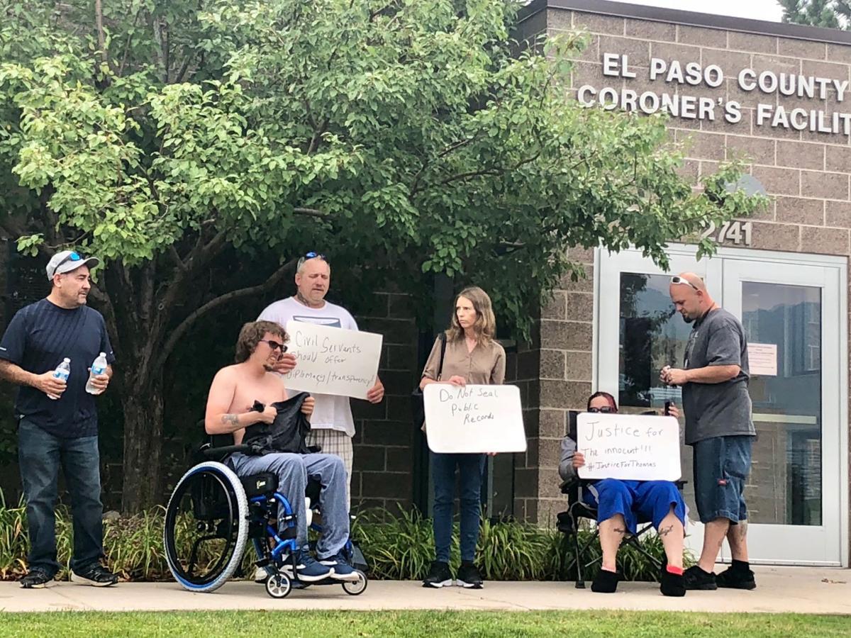 Thomas Villanueva protest 2