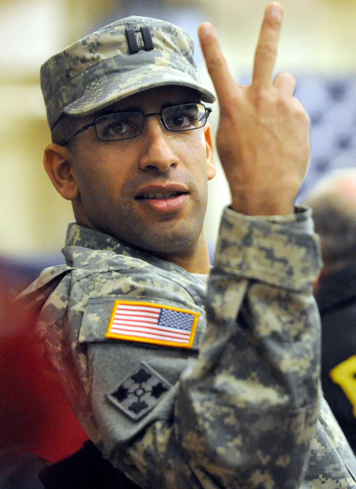 Six months after battle, Carson soldier on road to recovery
