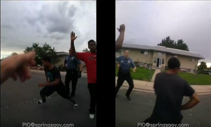 Condensed body camera footage from fatal shooting of De'Von Bailey