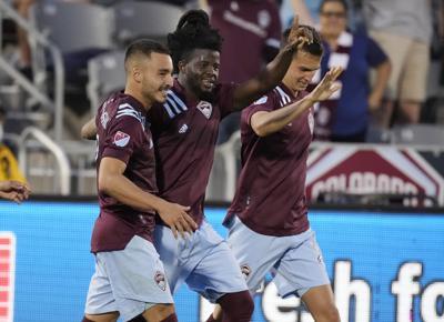 MLS FC Dallas Rapids Soccer Abubakar