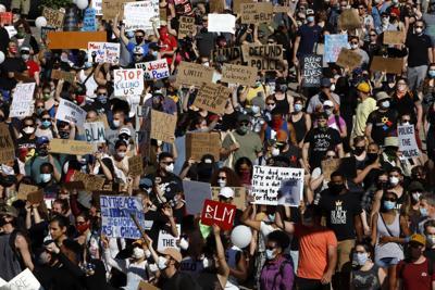 PRINT: Racial Injustice Black Lives Strike (copy)