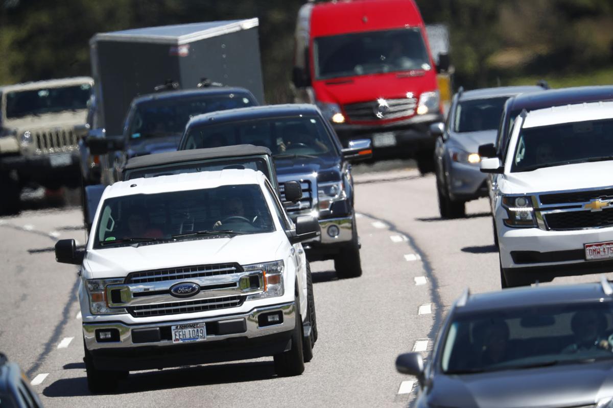 Traffic on I-70