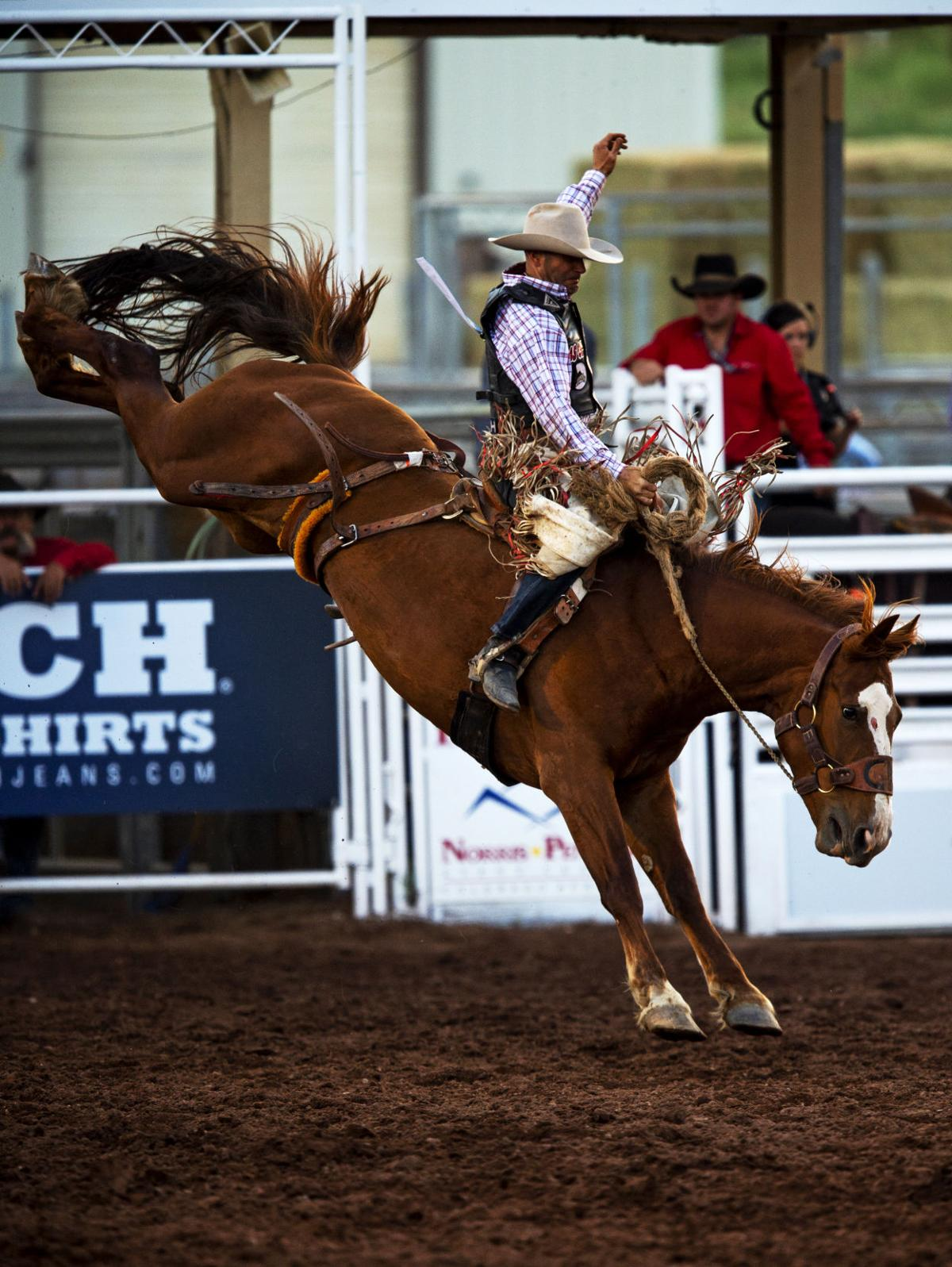 Colorado Springs' Grace Hill barrel races as youngest rider