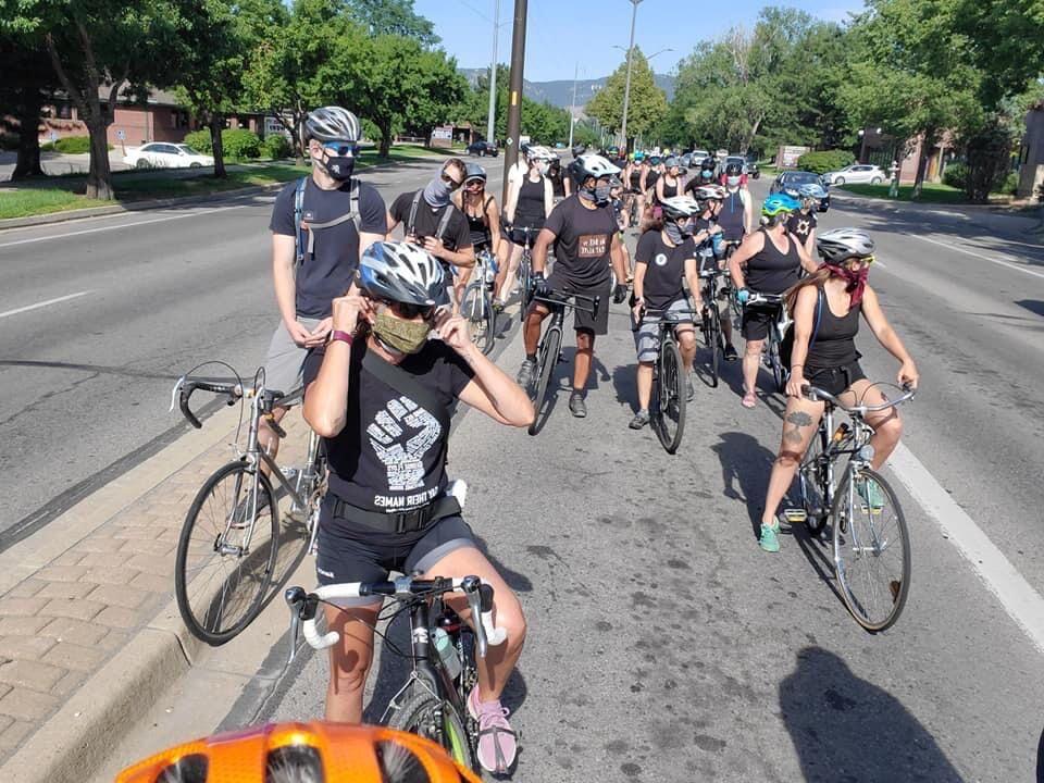 Bike Ride for Black Lives initiative community ride