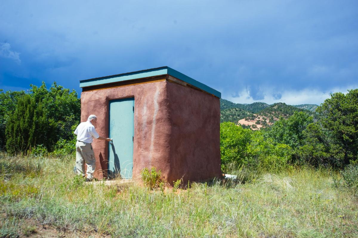 Longtime protectors of Aiken Canyon Preserve saying goodbyes with field station demolition