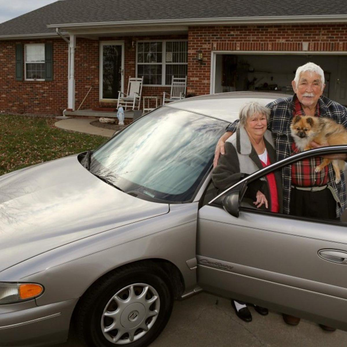 A repo man didn't want to seize an elderly couple's car  So