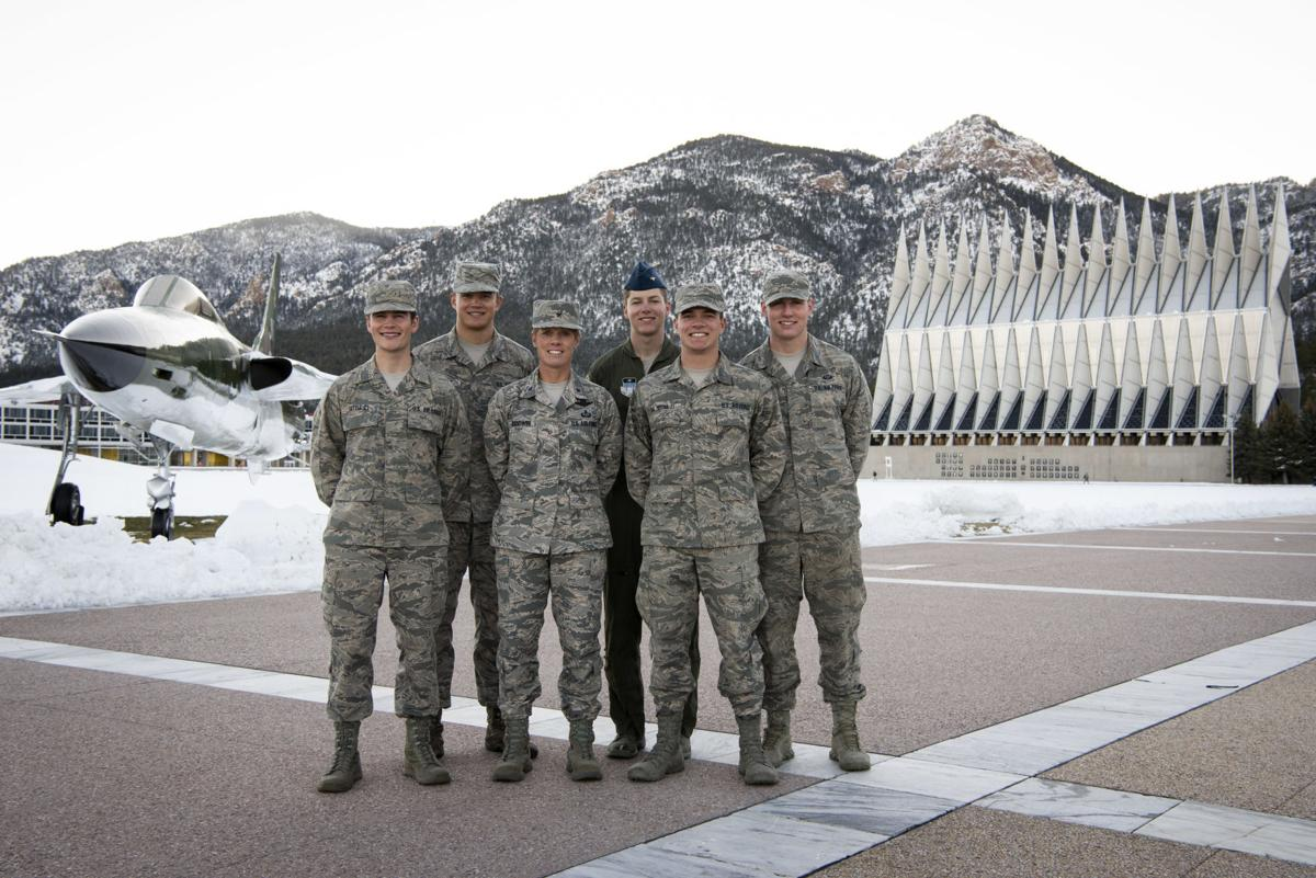 Air Force cadets recognized for heroic actions, helping family in vehicle accident