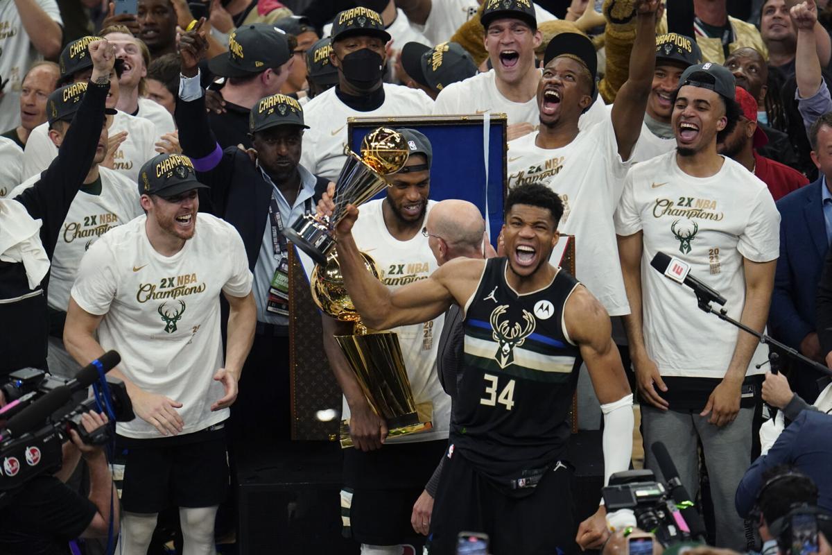 NBA Finals Suns Bucks Basketball MVP