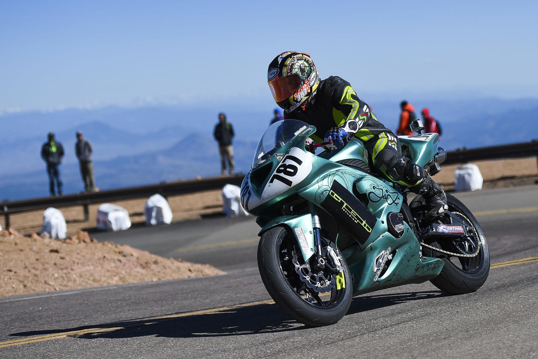 texas racer dies after pikes peak hill climb crash sports coverage rh gazette com