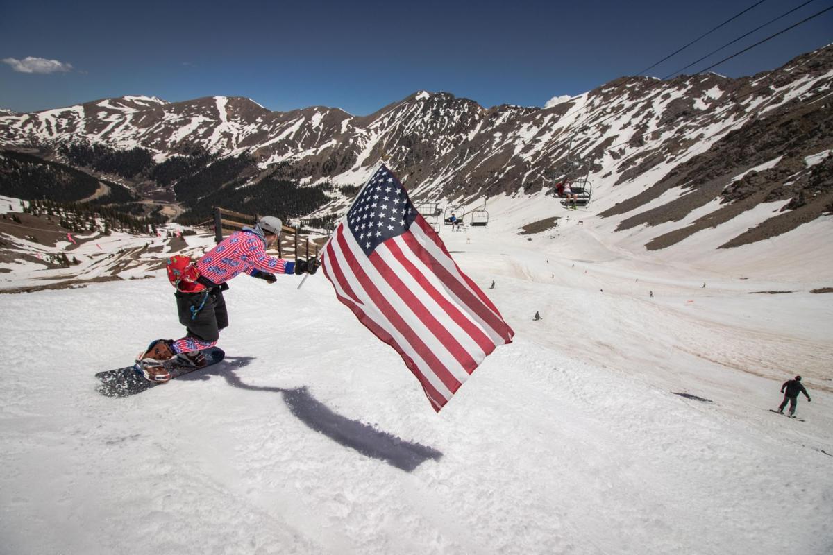4th of July Skiing at Arapahoe Basin