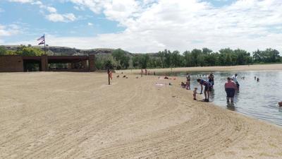 Pueblo swimming beach