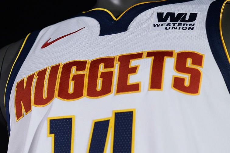 d91a373124af Denver Nuggets unveil new uniforms