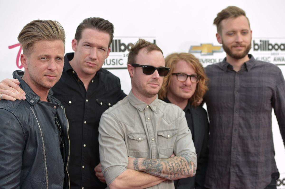Ryan Tedder, Zach Filkins, Eddie Fisher, Drew Brown, Brent Kutzle