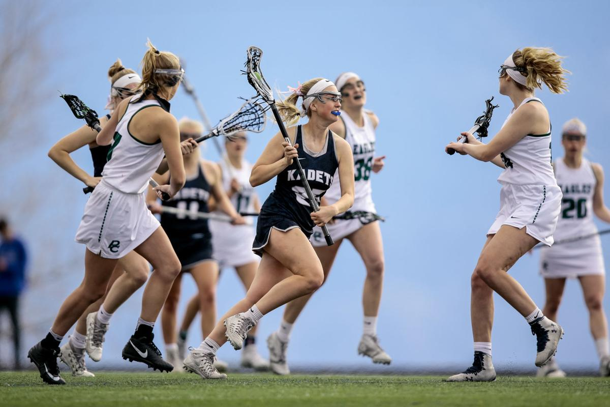 Lady Kadets fall just barely to Pine Creek in lacrosse match-up
