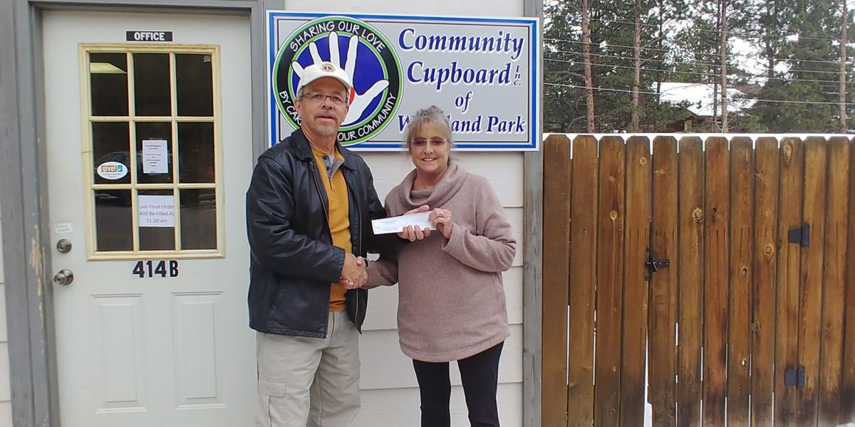WP Lions Club donates to Community Cupboard