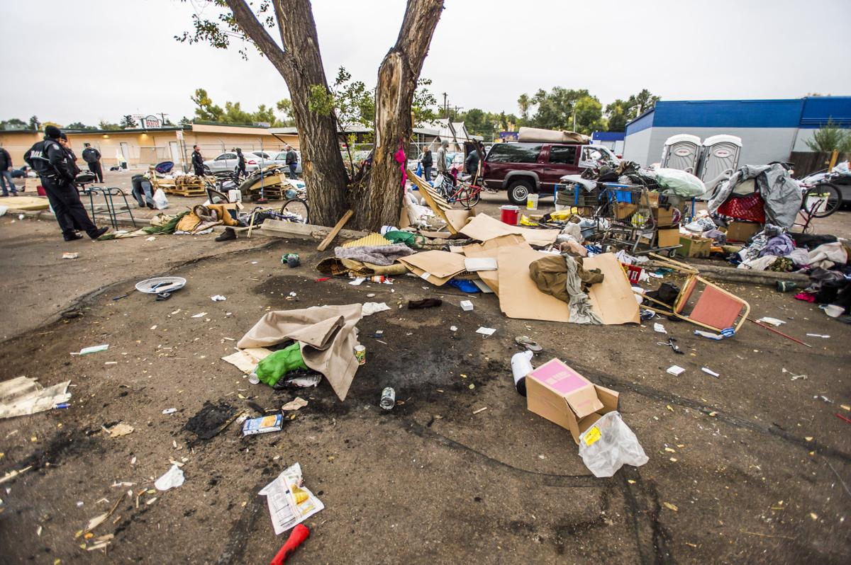 Residents of Colorado Springs homeless camp told to move