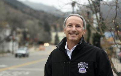 Ken Jaray is mayor of Manitou Springs.